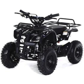 Квадроцикл детский бензиновый MOTAX ATV Х-16 Мини-Гризли, черный, электростартер и родительский пульт Ош