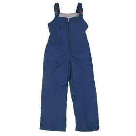 Полукомбинезон для мальчика, рост 140 см, цвет тёмно-синий ПКМ-5/22