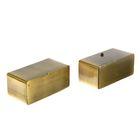 Заглушка торцевая ПРЕЗИДЕНТ (2 шт. в упак.) Старое золото