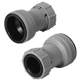 Переходник для шлангов, двусторонний, d= 32/38 мм
