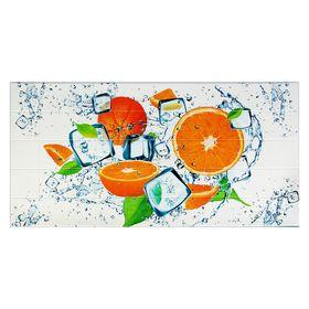 Панель ПВХ плитка Апельсин 485х960