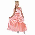 """Карнавальное платье """"Принцесса 005"""", р-р 56, рост 104 см, цвет коралловый"""