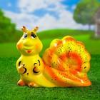 """Садовая фигура """"Гусеница"""" микс, малая, 17 см"""