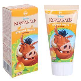 Детская зубная паста Disney. Король Лев 'Сочное манго', 62 г Ош