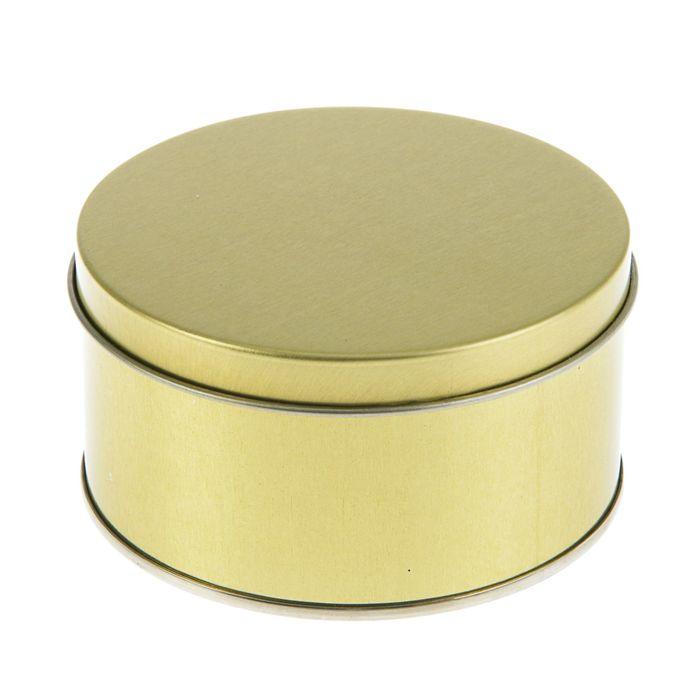 """Подарочная коробка """"Золото"""", 9.9 х 9.9 х 5.3 см"""