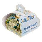 """Коробочка подарочная для яйца """"Христос Воскресе. Храм"""""""