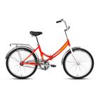 """Велосипед 24"""" Forward Valencia 1.0, 2017, цвет красный, размер 16"""""""