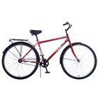 "Велосипед 28"" Altair City high 28, 2017, цвет бордовый, размер 19"""