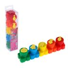 """Набор пальчиковых красок """"Тролли"""", 5 цветов по 20 мл"""