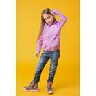 """Ветровка для девочки """"Дождик"""", рост 104 см (28), цвет розовый Д807"""