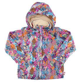 """Куртка для девочки """"Пион"""", рост 128 см (32), цвет сиреневый ДД-0631"""