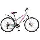 """Велосипед 26"""" Stinger Latina D, 2017, цвет серый, размер 15"""""""