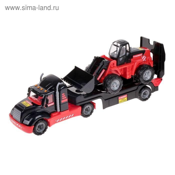 """Автомобиль-трейлер + трактор-погрузчик """"MAMMOET"""""""