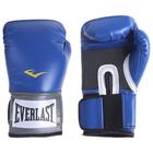 Перчатки тренировочные PU Pro Style Anti-MB, 10 унций, цвет синий
