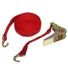 Стяжка груза с механизмом 110 мм, ширина ленты 25 мм, нагрузка 200/400 кг, длина 5 м