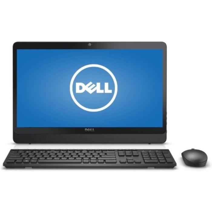 "Моноблок Dell Inspiron 3464 23.8"" Full HD i3 7100U, Linux, клавиатура/мышь, черный"