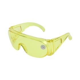 Очки защитные LOM, желтые, открытого типа, ударопрочный материал