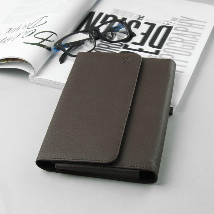 """Чехол """"Norton"""" для планшетов и навигатора, 7"""", на кнопках, внутренние абариты 210х120х20 мм, цвет коричневый"""