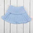 "Манишка (шарф) для мальчика ""Мини"", возраст 0-6 мес, цвет голубой 5637-24009шрф_М"