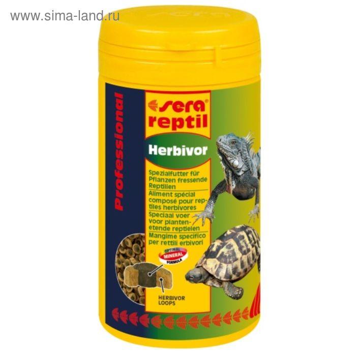 Корм для растительноядных рептилий Sera reptil Professional Хербивор, 10000 мл, 3,2 кг