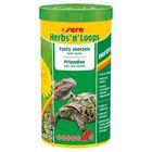 Корм Sera Herbs'n'Loops для растительноядных рептилий, 1000 мл, 120 г