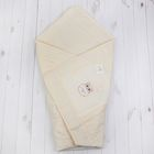 Конверт-одеяло лоскутное, размер 110*110 см, цвет жёлтый 3607