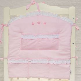 Карман в кроватку 'Три медвежонка' розовый 60*60 см, цвет розовый 5046 Ош