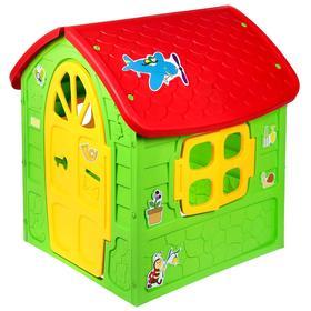 Детский игровой домик, цвет зелёный Ош