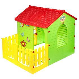 Детский игровой комплекс 'Домик с забором' Ош