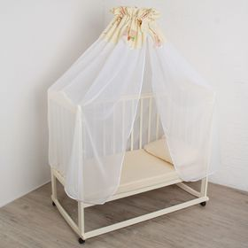 Балдахин для кроватки 'Ромашка', размер 150*400 см, цвет МИКС 7110 Ош