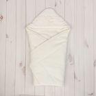 Конверт-одеяло с вышивкой, размер 90*90 см, цвет экрю 2157 Экрю