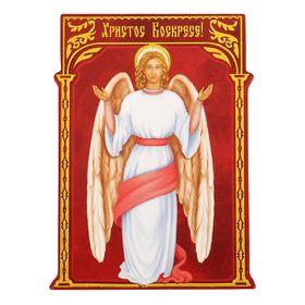 """Магнит полимерный """"Ангел. Христос Воскресе!"""""""
