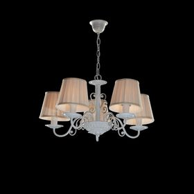 """Люстра классика """"Изабелла"""" 5 ламп E14 60W белый 55х29 см"""