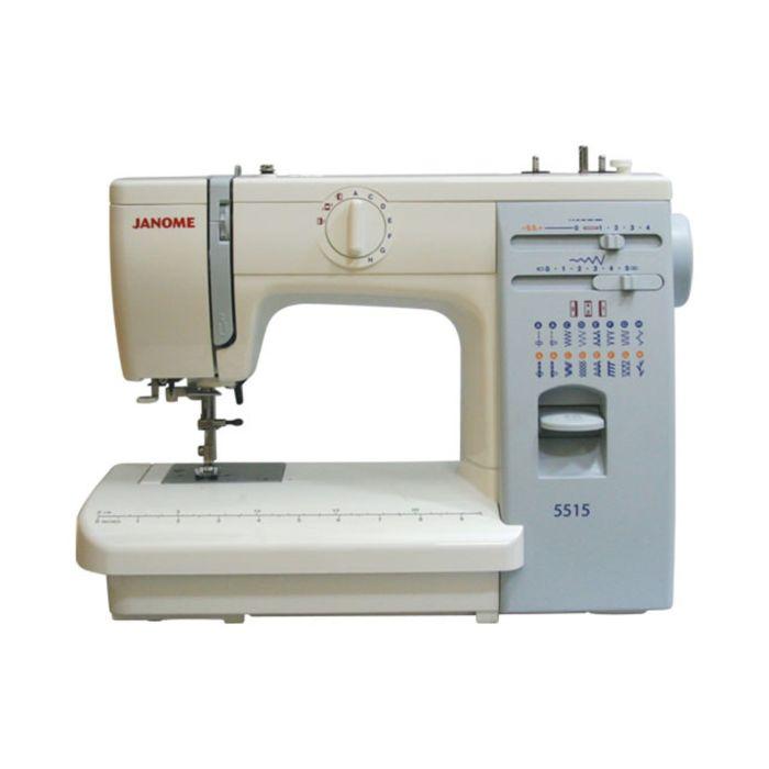 Швейная машина Janome 5515, 15 операций, потайная, эластичная строчка