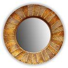 Зеркало SUNSHINE, древесный материал, бронзовое