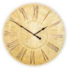 Часы TWINKLE, древесный материал, золотистые