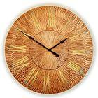Часы TWINKLE, древесный материал, бронзовые