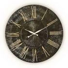 Часы TWINKLE, древесный материал, чёрный лак
