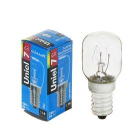 Лампа накаливания Uniel, Е14, 7 Вт, 220 В, прозрачная, для ночников