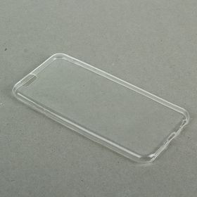 Силиконовый чехол для телефона LuazON, тонкий, для iPhone 6, 6S прозрачный Ош