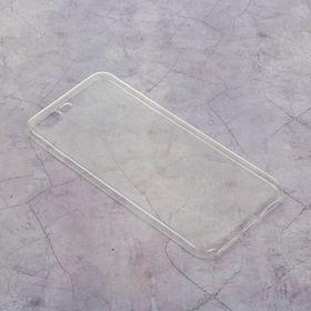 Силиконовый чехол для iPhone 7 plus, тонкий, прозрачный Ош