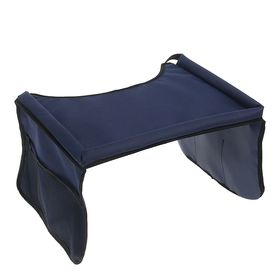Столик-органайзер для детского автокресла TORSO, синий