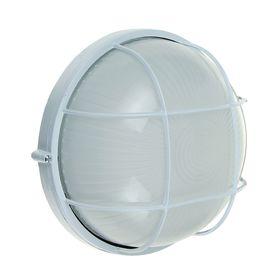 Светильник TDM НПБ1102, белый/круг с реш. 100Вт, IP54, SQ0303-0026 Ош