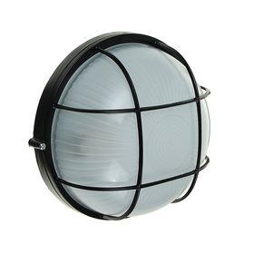 Светильник TDM НПБ1102, черный/круг с реш. 100Вт, IP54, SQ0303-0027 Ош