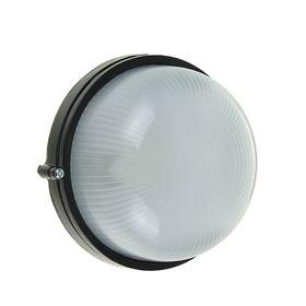 Светильник TDM НПБ1301, черный/круг 60Вт, IP54, SQ0303-0031 Ош