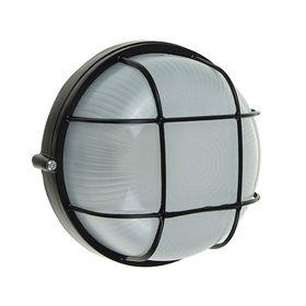 Светильник TDM НПБ1302, черный/круг с реш. 60Вт, IP54, SQ0303-0033 Ош