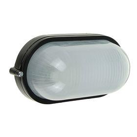 Светильник TDM НПБ1401, черный/овал 60Вт, IP54, SQ0303-0035 Ош