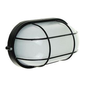 Светильник TDM НПБ1202, черный/овал с реш. 100Вт, IP54, SQ0303-0039 Ош