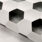 Бумага упаковочная глянцевая «Футбольный мяч», 70 х 100 см.