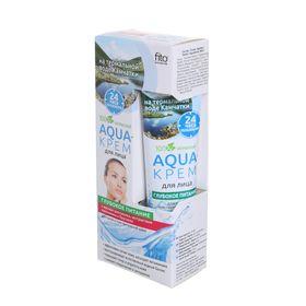 Aqua-крем для лица на термальной воде Камчатки 'Глубокое питание' для сухой и чувствительной кожи, 4 Ош
